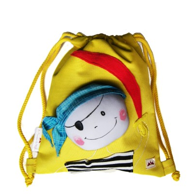 children's backpacks Waterproof .Pirate